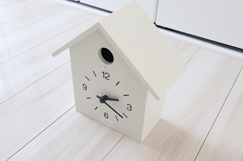 無印良品 鳩時計・大 ホワイト