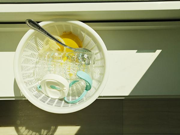 水切りカゴ 代用 ブログ画像